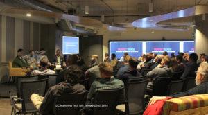 AR VR sales and marketing DC Marketing Tech Talks Meetup 2