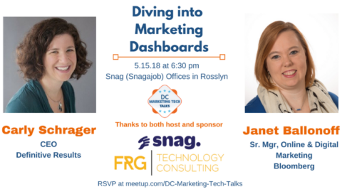 DC Marketing Tech Talks: Diving into Marketing Dashboards