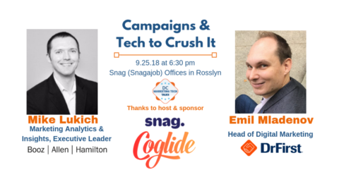 DC Marketing Tech Talks: Campaigns and Tech to Crush It