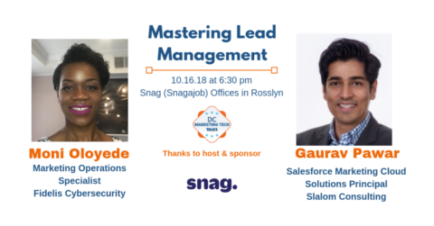 DC Marketing Tech Talks: Mastering Lead Management