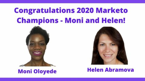 Celebrating our Local DC 2020 Marketo Champions